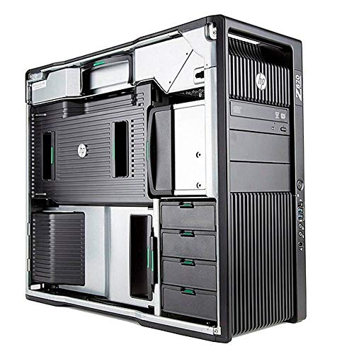 HP Z820 PTC Creo Workstation E5-2687wv2 8 Cores 16 Threads 3.4Ghz 128GB 500GB M.2 SSD 2TB Quadro K6000 Win 10 Pro (Renewed)