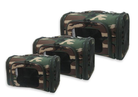 Camouflage Dog Carriers