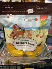 Healthy Coconut Dog Chips