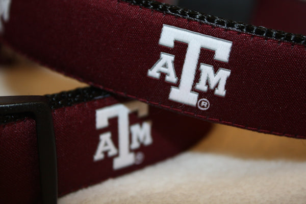 Maroon Texas A&M Dog Leash