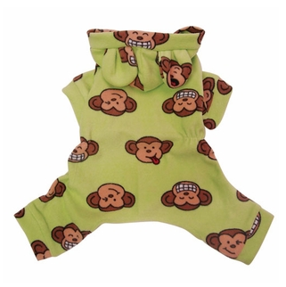 Monkey Face Dog Pajamas