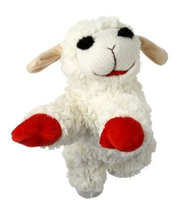 Tiny Lamb Chop Dog Toy