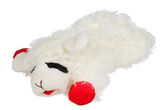 Large Lamb Chop Dog Toy