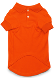 Orange Dog Polo Shirt