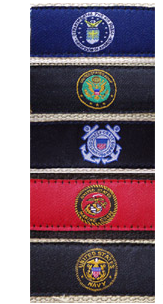 Armed Forces Dog Collars