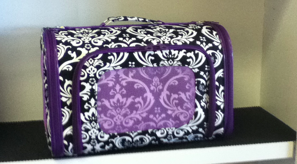 Purple Damask Carrier