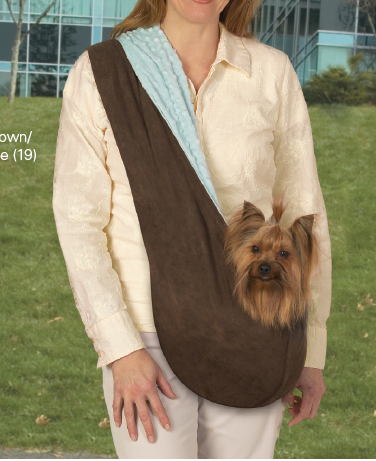 Reversible Colored Sling Dog Carriers