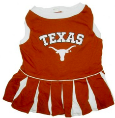 University of Texas UT Cheerleader Dog Dress