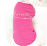 Rhinestone Princess Big Dog Clothes