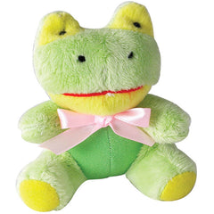 frog mini dog toy