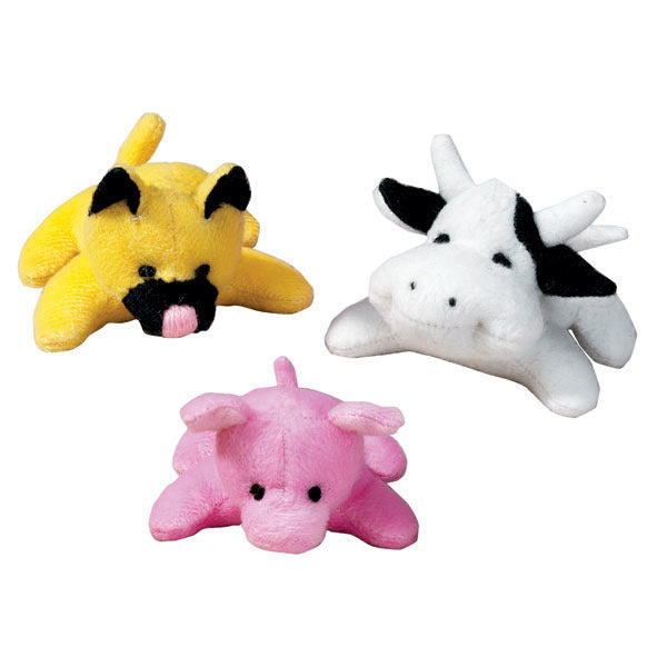 Tiny Animal Characters - Plush Dog Toy