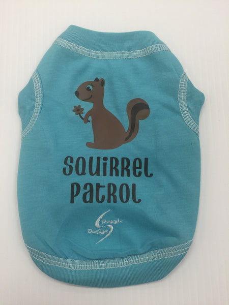 Squirrel Patrol Dog Tank