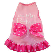 Little Miss Perfect Designer Dog Dress