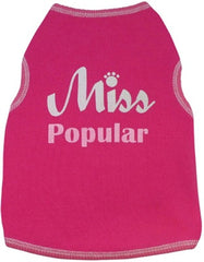 Miss Popular Dog Shirt