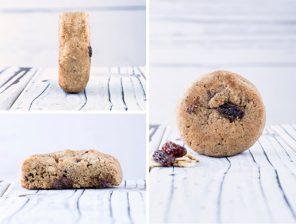 Vegan & Gluten-Free Oatmeal Raisin Cookies