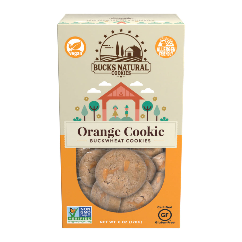 Gluten-Free & Vegan Orange Cookies