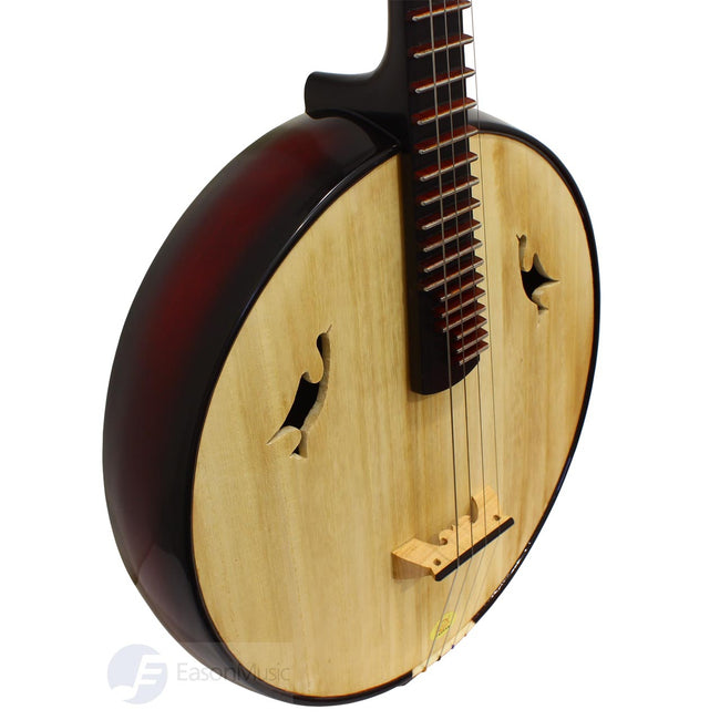 Concert Basswood Zhongruan with Steel Frets by Song Guang Ning