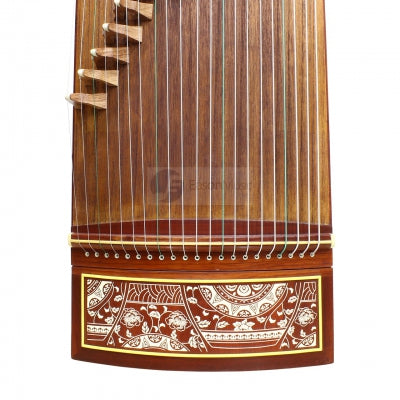 "Popular Huali Wood ""Paper Art"" 21# Guzheng by Shanghai Dunhuang Yun"