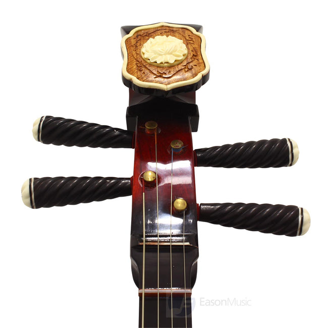 Concert Grade Rosewood Beijing Daruan with Alloy Frets by Song Guang Ning