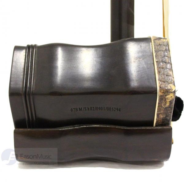 Popular Ebony Erhu by Shanghai Dunhuang with Bronze Tuner Side