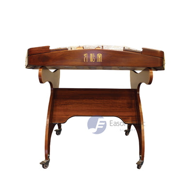 Professional Aged Huali Wood Minimalistic Design 402 Yangqin by Yin Song Lan