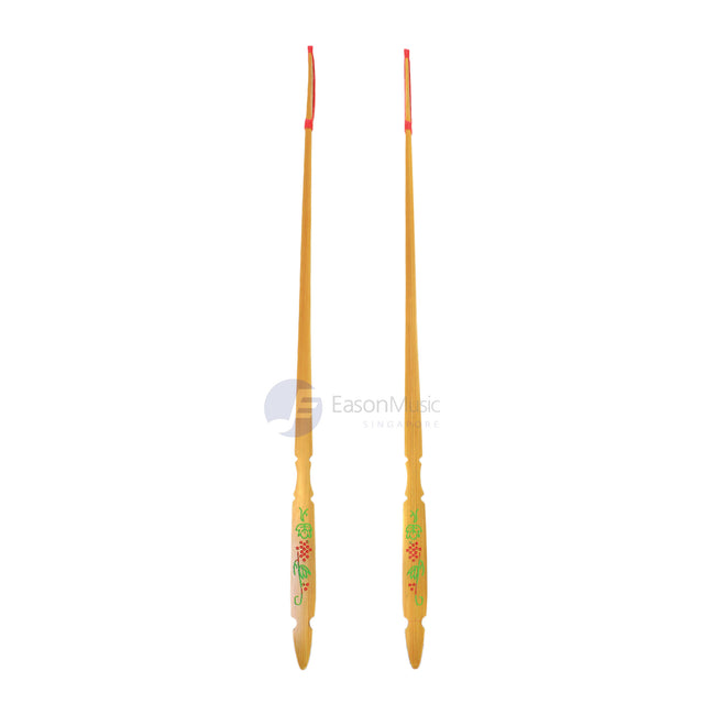 Popular Grape Design Rosewood Tip Yangqin Sticks