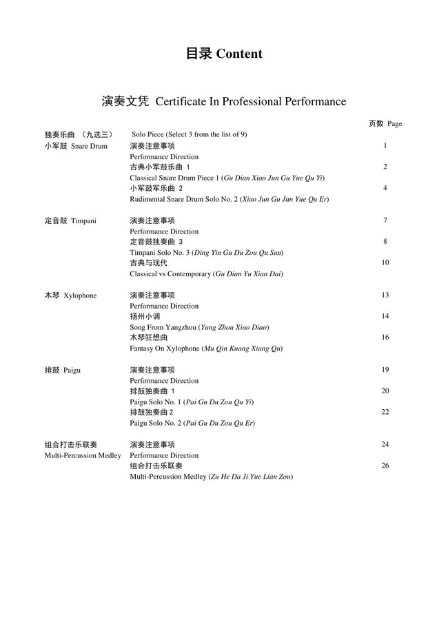 Percussion Teng CI Certification for Professional Performance