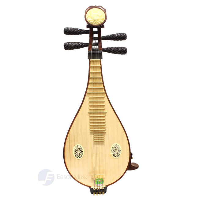 Professional Rosewood Liuqin by Shanghai Dunhuang with Black Buffalo Horn Pegs
