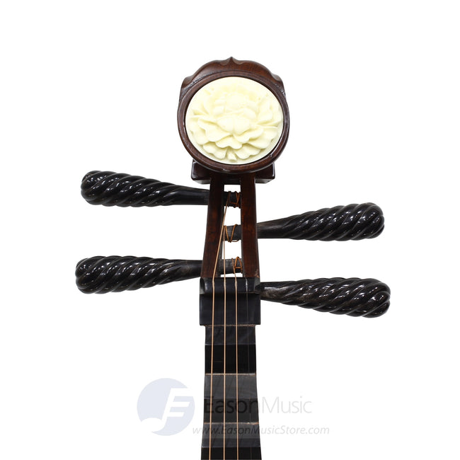 Professional Rosewood Pipa by Shanghai Dunhuang Yun with Black Rosewood Neck