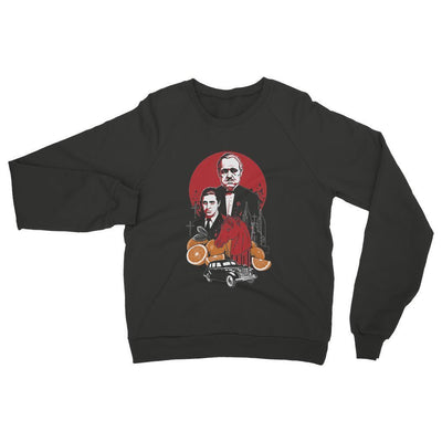 Spooky, Gothic, and Chilling Women's Family Cursed Sweatshirt-Other-Laundry Day Apparel