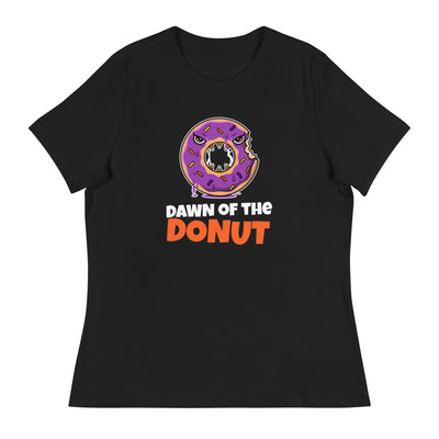 Funny and scary Dawn of the Dead shirt featuring donuts for Halloween-Laundry Day Apparel