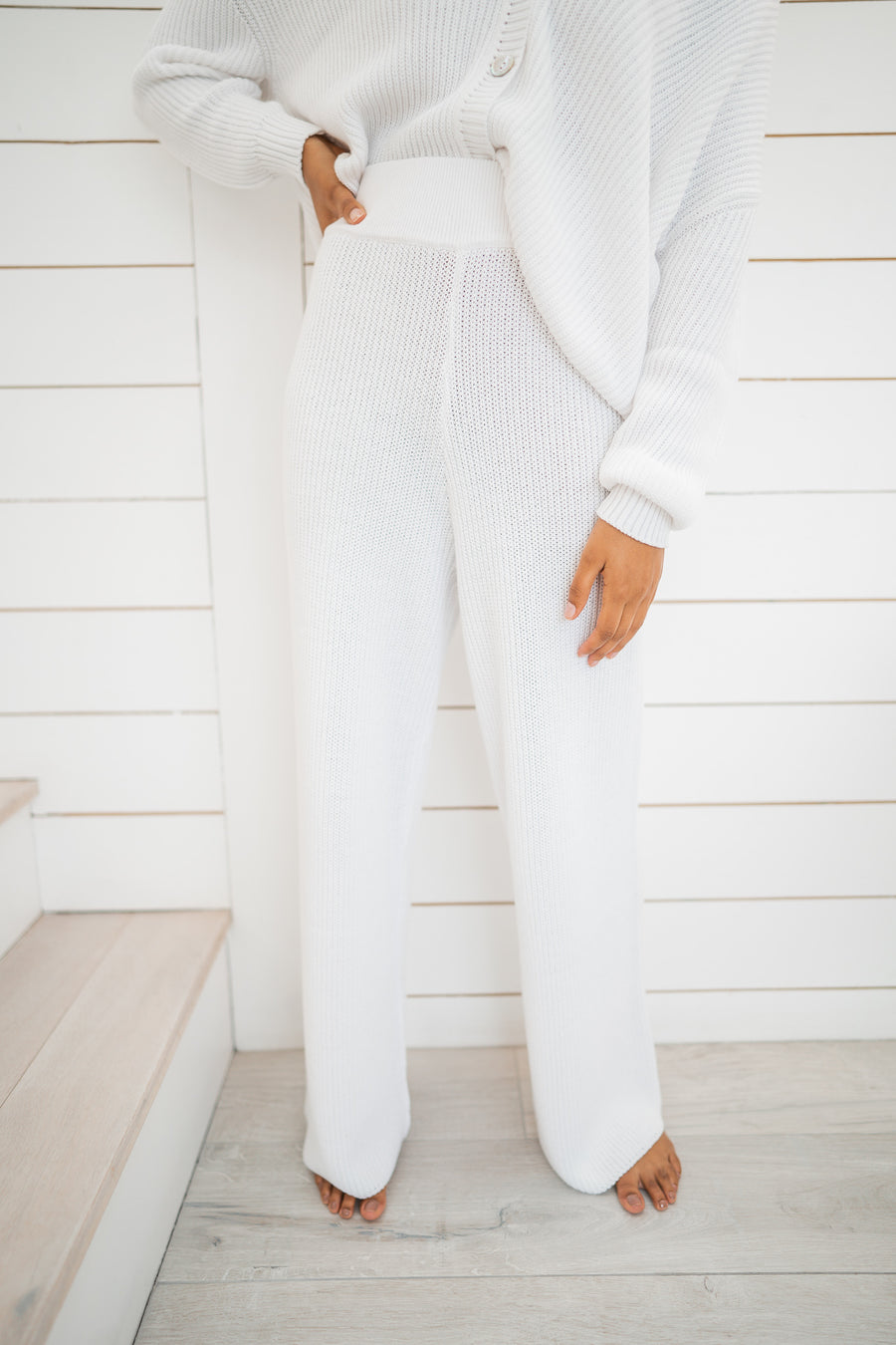 Amor Trousers - White