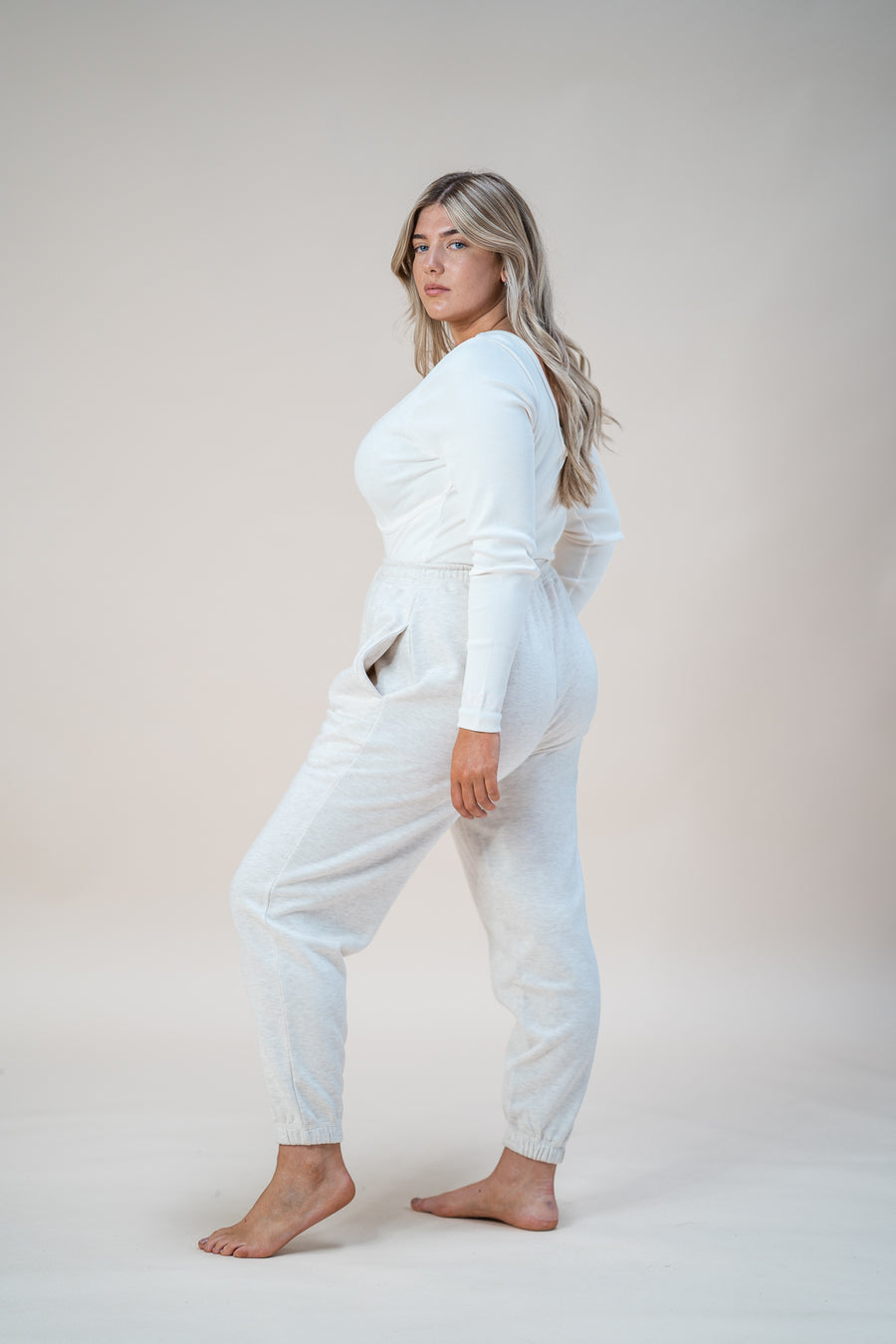 Quartz Bodysuit - Cream