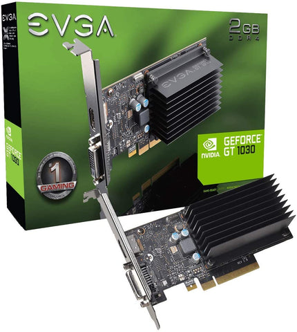 02G-P4-6232-KR EVGA GeForce GT 1030 DDR4 Graphic Cards 843368055738