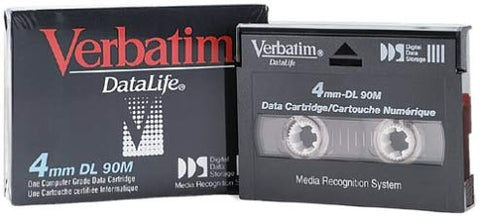 Verbatim 2.0GB 4MM 90M DL DDS1 Data Cartridge (88195)
