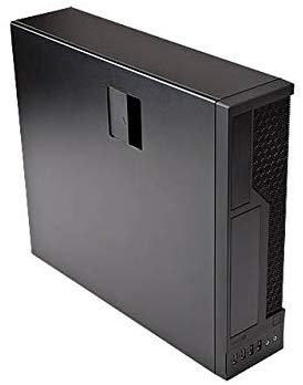 In-Win 300W MicroATX Slim Case, Black (CE685.FH300TB3)