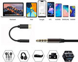 USB C to 3.5mm Female Headphone Jack Adapter, 1 piece (6934989057813)