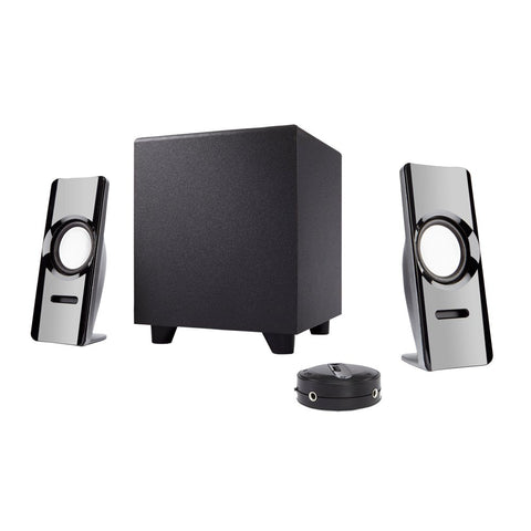 Cyber Acoustics 2.1 powered speaker system 20 Watt (CA-SP24) 646422002729