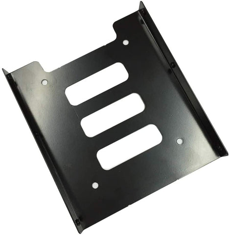 JMT 3.5-Inch to 2.5-Inch Internal Hard Drive Mounting Bracket, Black