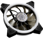8541605610 uphere 120mm LED Silent Fan for Computer Cases & Radiators Ultra Quiet, 1 pack 18056529