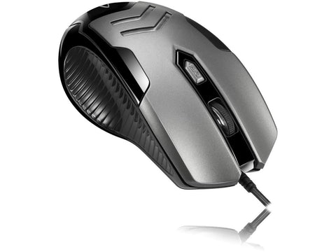 Adesso Multi-Color 6-Button Gaming Mouse (iMouse X1) 783750008549