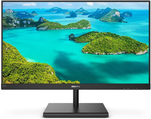 271E1S Philips 27 Inch Frameless Monitor, Full HD IPS, 124% sRGB, FreeSync 75Hz, VESA 609585253728