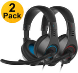 A2 Senicc 2 Pack Gaming Headset with Microphone Z0024IK7R3