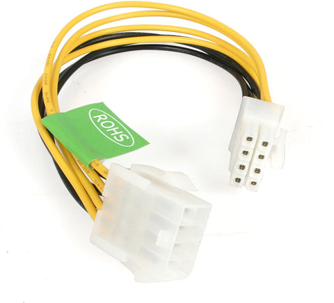 "EPS8EXT 9"" 8-pin F to 8-pin M Power Extension Cable 334673482210"