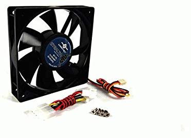 Vantec Stealth 60x60x25mm Double Ball Bearing Silent Case Fan (Black)