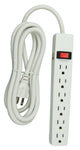 Hyper Tough 6-outlet 8ft Power Strip (PS682_W) 082721406682