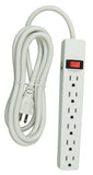 Hyper Tough 6-outlet 8ft Power Strip (PS682_W)