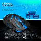 Aikun GX52 LED 6 Function Optical Gaming Mouse (GX52)