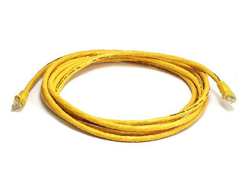 350 MHz UTP Cat5e RJ45 Network Cable, Yellow