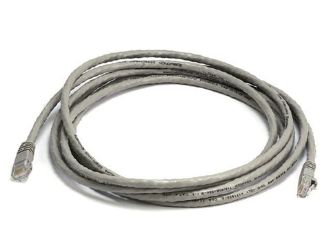 500 MHz Cat6 Patch Cord (UTP) Gray